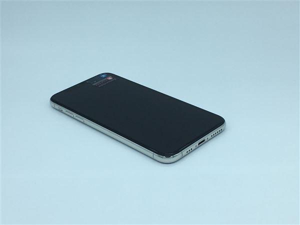 【中古】【安心保証】 SoftBank iPhoneXS[256G] シルバー SIMロック解除済