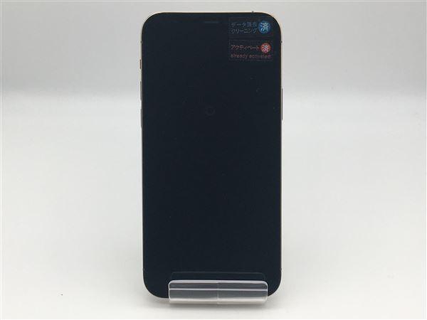 【中古】【安心保証】 docomo iPhone12Pro[512G] ゴールド