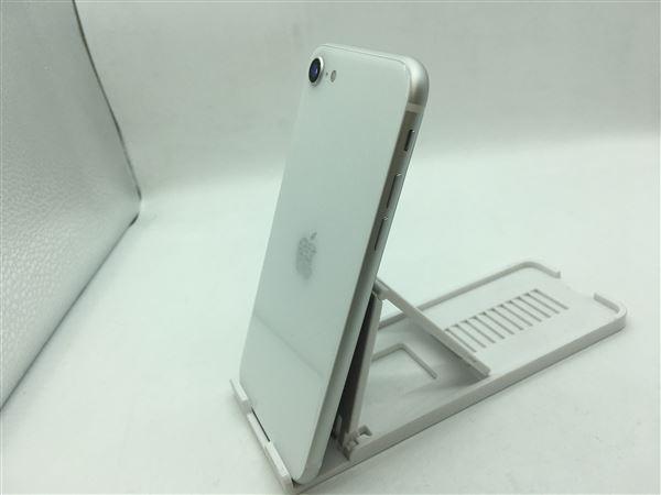 【中古】【安心保証】 SoftBank iPhoneSE 第2世代[64G] ホワイト SIMロック解除済