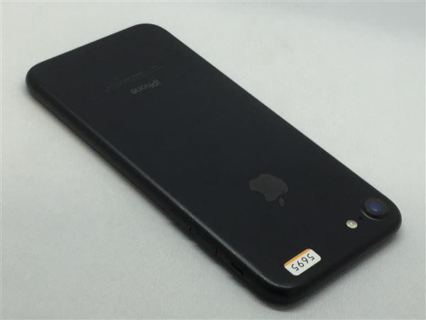 【中古】【安心保証】 UQモバイル iPhone7[32G] ブラック