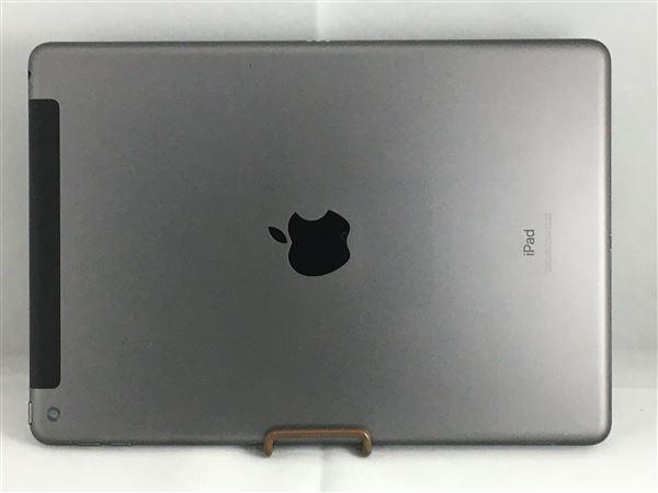 【中古】【安心保証】 docomo iPad-10.2_7[セルラー128G] グレイ