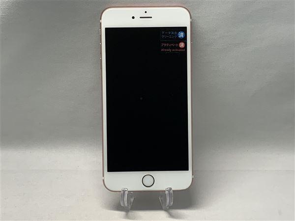 【中古】【安心保証】 SoftBank iPhone6sPlus[128G] ローズゴールド
