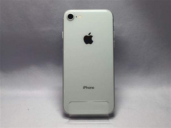 【中古】【安心保証】 SIMフリー iPhone8[64G] シルバー