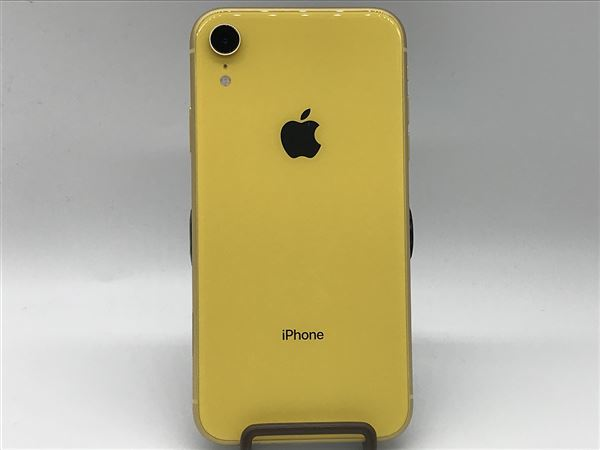 【中古】【安心保証】 SoftBank iPhoneXR[64G] イエロー