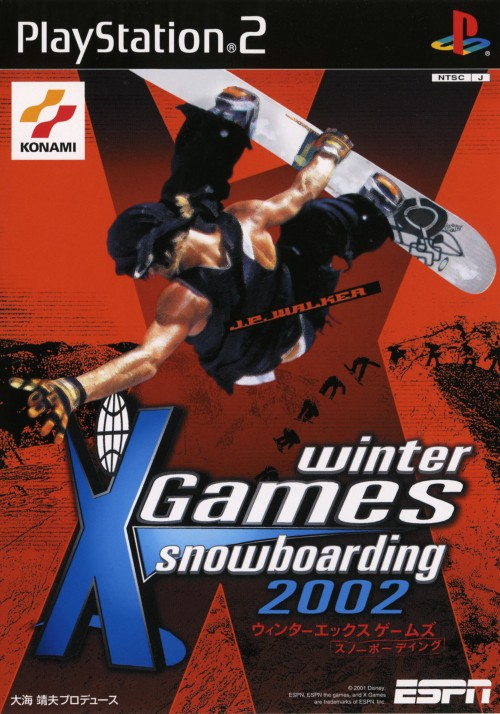 【中古】ESPN Winter X Games Snowboarding 2002