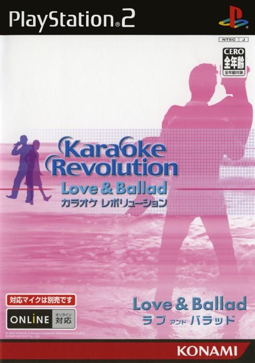 【中古】カラオケレボリューション Love&Ballad