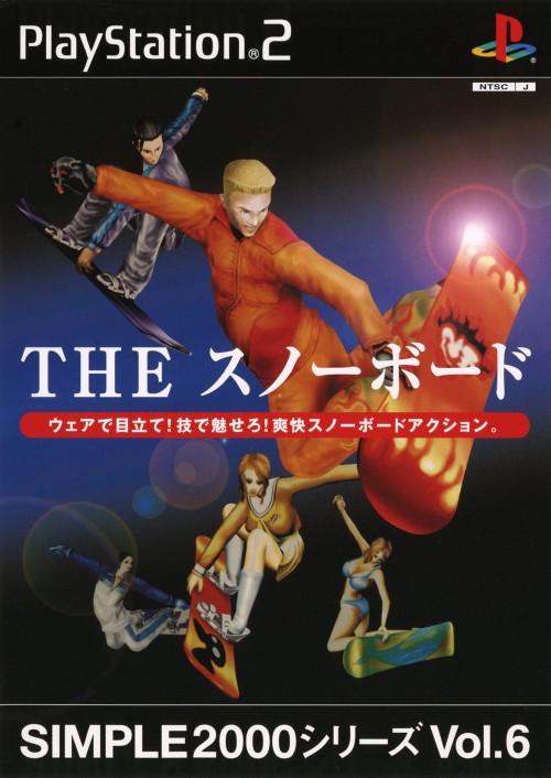 【中古】THE スノーボード SIMPLE2000シリーズ Vol.6