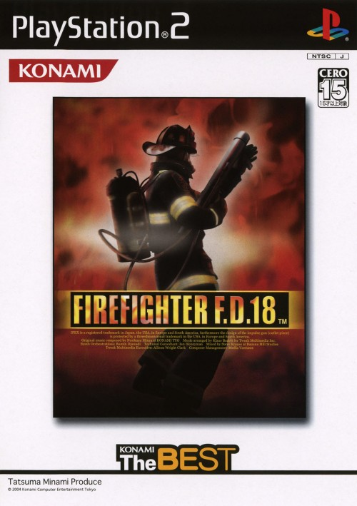 【中古】FIRE FIGHTER F.D.18 コナミ ザ ベスト