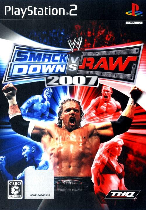 【中古】WWE 2007 SmackDown vs Raw
