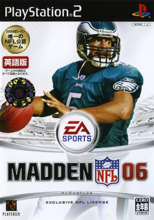 【中古】MADDEN NFL 06