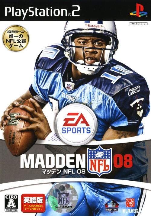 【中古】MADDEN NFL 08