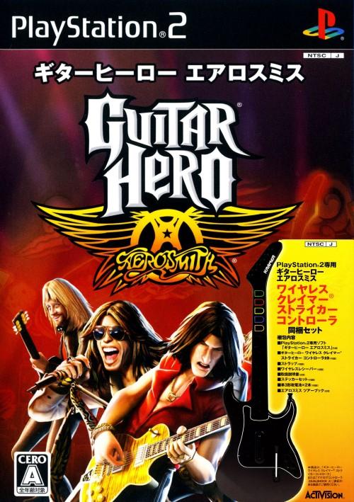 【中古】ギターヒーロー エアロスミス ギターコントローラ同梱セット (同梱版)
