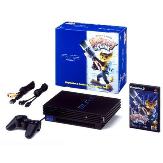 【中古・箱説あり・付属品あり・傷なし】PlayStation2 ラチェット&クランク アクションパック SCPH−39000RC (ソフトの付属は無し)