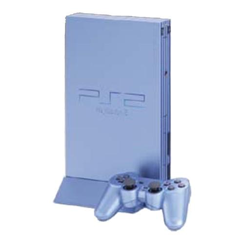 【中古・箱説あり・付属品あり・傷なし】PlayStation2 SCPH−39000AQ アクア (限定版)