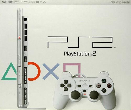 【中古・箱無・説明書有】PlayStation2 SCPH−75000CW セラミックホワイト