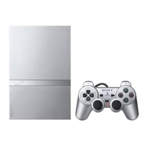 【中古・箱説あり・付属品あり・傷なし】PlayStation2 SCPH−79000SS サテン・シルバー