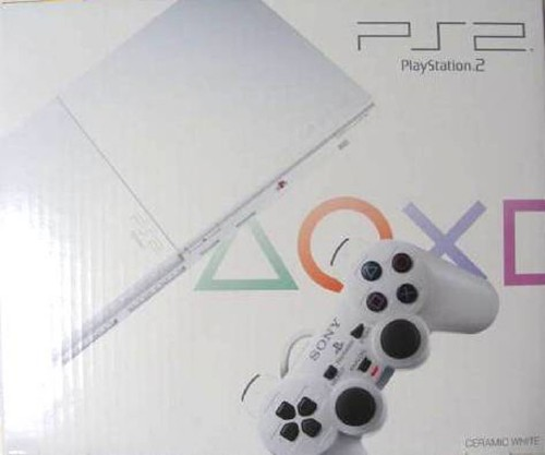 【中古・箱無・説明書無】PlayStation2 SCPH−90000CW セラミック・ホワイト