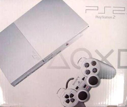 【中古・箱無・説明書無】PlayStation2 SCPH−90000SS サテン・シルバー