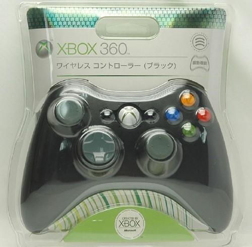 【中古】Xbox360 ワイヤレスコントローラー ブラック