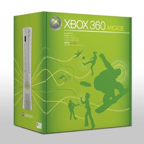 【中古・箱説あり・付属品あり・傷あり】Xbox360 アーケード (メモリ内蔵型) オムニバスディスク付