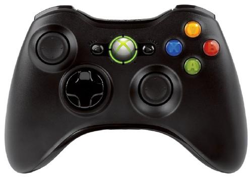 【中古】Xbox360 ワイヤレスコントローラー リキッドブラック
