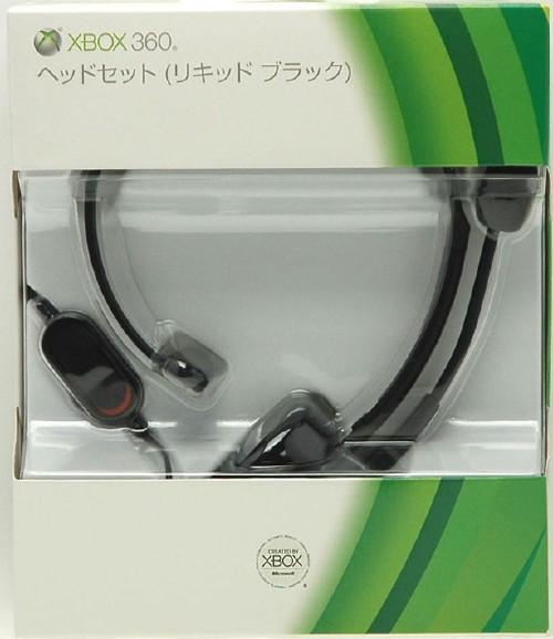 【中古】Xbox360 ヘッドセット リキッドブラック (P5F−00004)