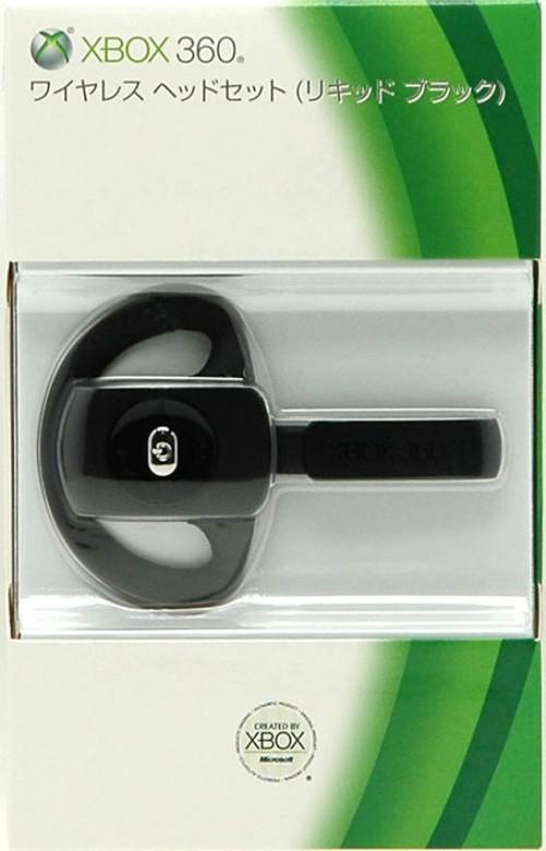 【中古】Xbox360 ワイヤレス ヘッドセット リキッドブラック