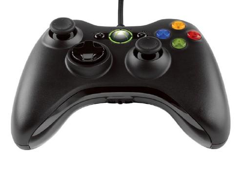 【中古】Xbox360 コントローラー リキッドブラック