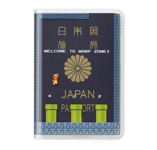 【新品】スーパーマリオ トラベル パスポートカバー(地下コース)