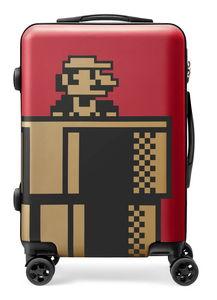 【新品】スーパーマリオ トラベル スーツケース(ワインレッド)