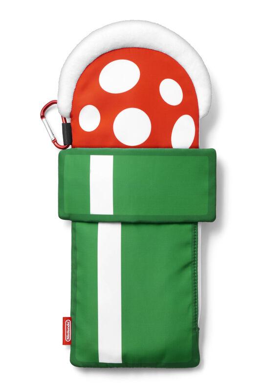 【新品】スーパーマリオ トラベル 折りたたみ傘用カバー(パックンフラワー)