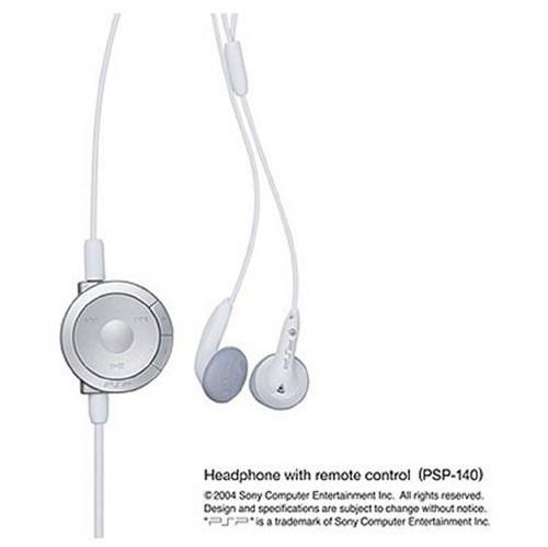 【中古】PSP−1000用 リモコン付きヘッドホン ホワイト