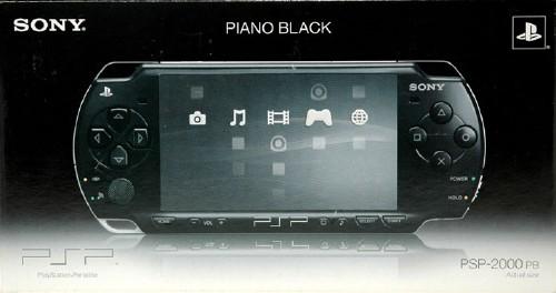 【中古・箱説あり・付属品あり・傷なし】PlayStation Portable PSP−2000PB ピアノ・ブラック