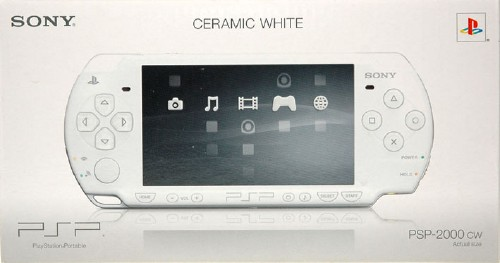 【中古・箱無・説明書無】PlayStation Portable PSP−2000CW セラミック・ホワイト