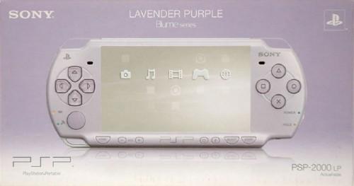 【中古・箱説あり・付属品あり・傷なし】PlayStation Portable PSP−2000LP ラベンダー・パープル Blume series