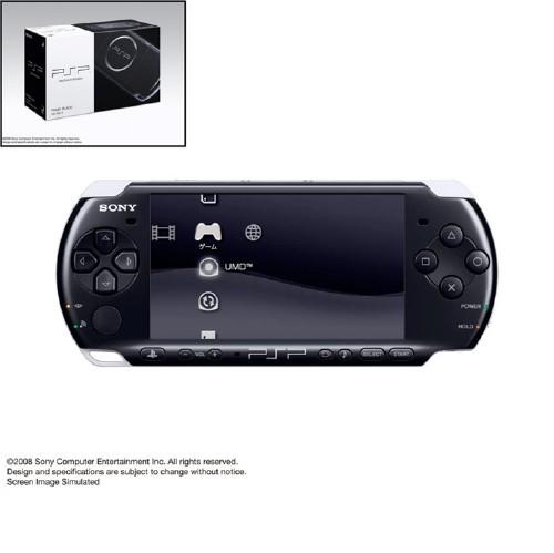 【中古】PlayStation Portable PSP−3000PB ピアノ・ブラック