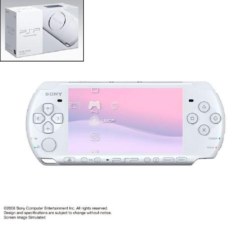 【中古】PlayStation Portable PSP−3000PW パール・ホワイト