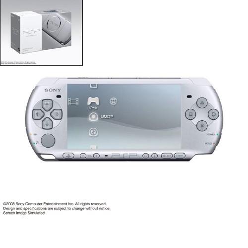 【中古・箱無・説明書無】PlayStation Portable PSP−3000MS ミスティック・シルバー