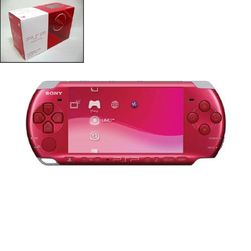 【中古・箱無・説明書有】PlayStation Portable PSP−3000RR ラディアント・レッド CARNIVAL COLORS