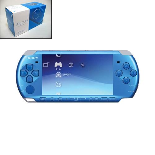【中古】PlayStation Portable PSP−3000VB バイブラント・ブルー CARNIVAL COLORS