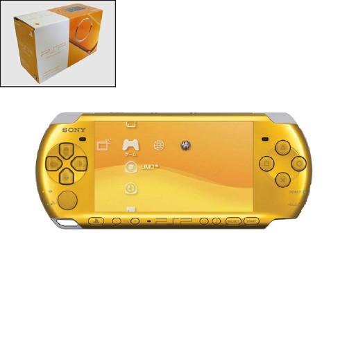 【中古・箱説あり・付属品あり・傷なし】PlayStation Portable PSP−3000BY ブライト・イエロー CARNIVAL COLORS