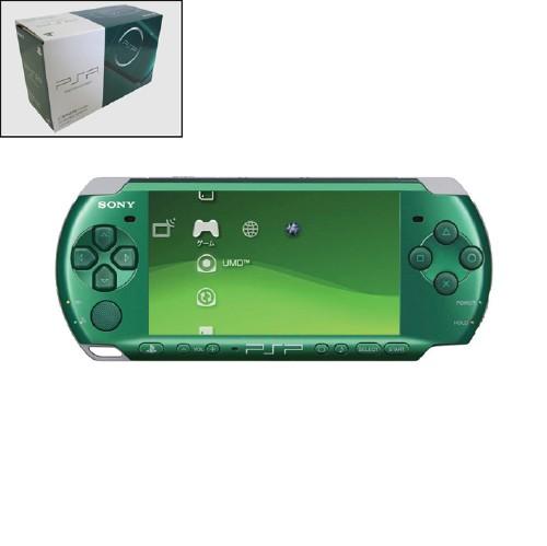 【中古・箱無・説明書無】PlayStation Portable PSP−3000SG スピリティッド・グリーン CARNIVAL COLORS
