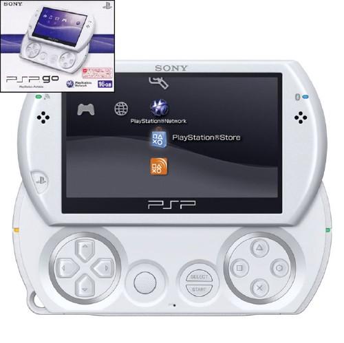 【中古・箱説あり・付属品あり・傷なし】PSP go PSP−N1000PW パール・ホワイト
