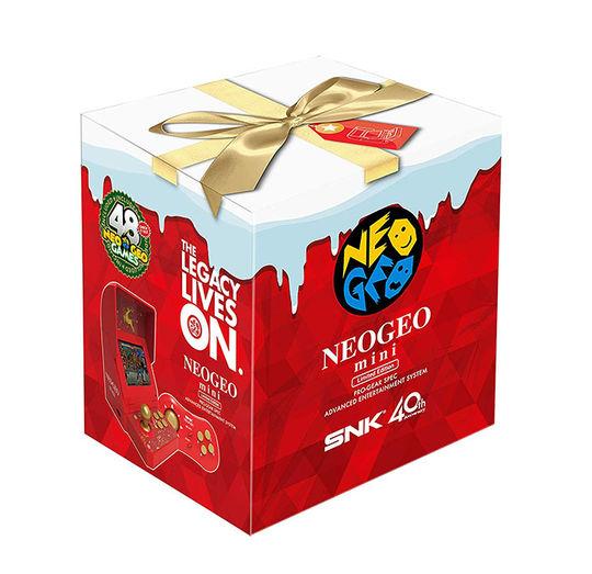 【新品】NEOGEO mini クリスマス限定版