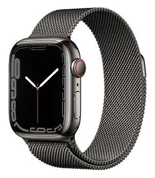 AppleWatch Series7 GPS+Cellularモデル 41mm [ステンレススチール/グラファイト]