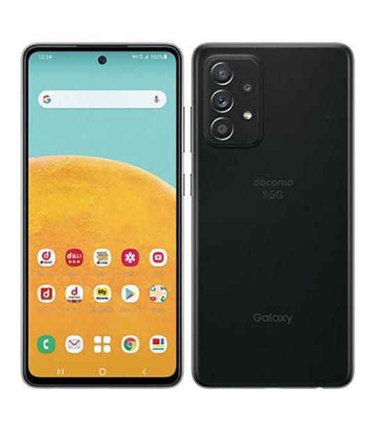 Galaxy A52 5G SC-53B(オーサムブラック)