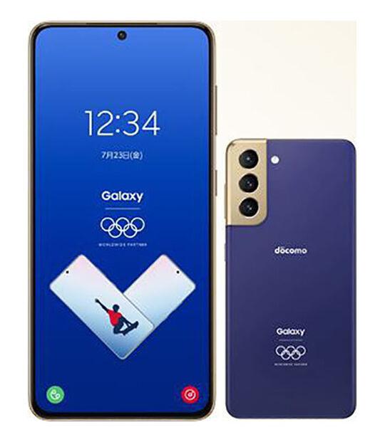 Galaxy S21 5G SC-51B Olympic Games Edition(ファントムブルー)