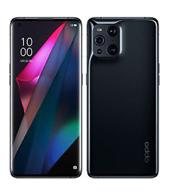 Mobile Find X3 Pro CPH2173(グロスブラック)