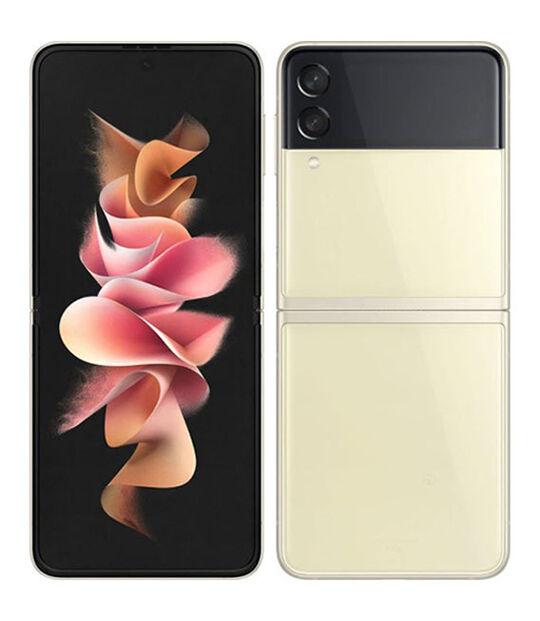 Galaxy Z Flip3 5G SCG12(クリーム)