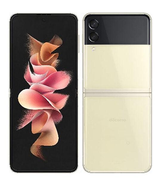 Galaxy Z Flip3 5G SC-54B(クリーム)